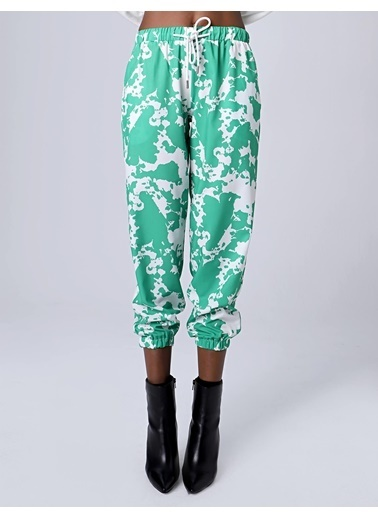 Huxel Pantolon Yeşil
